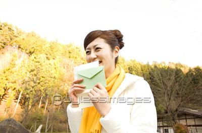 手紙と笑顔