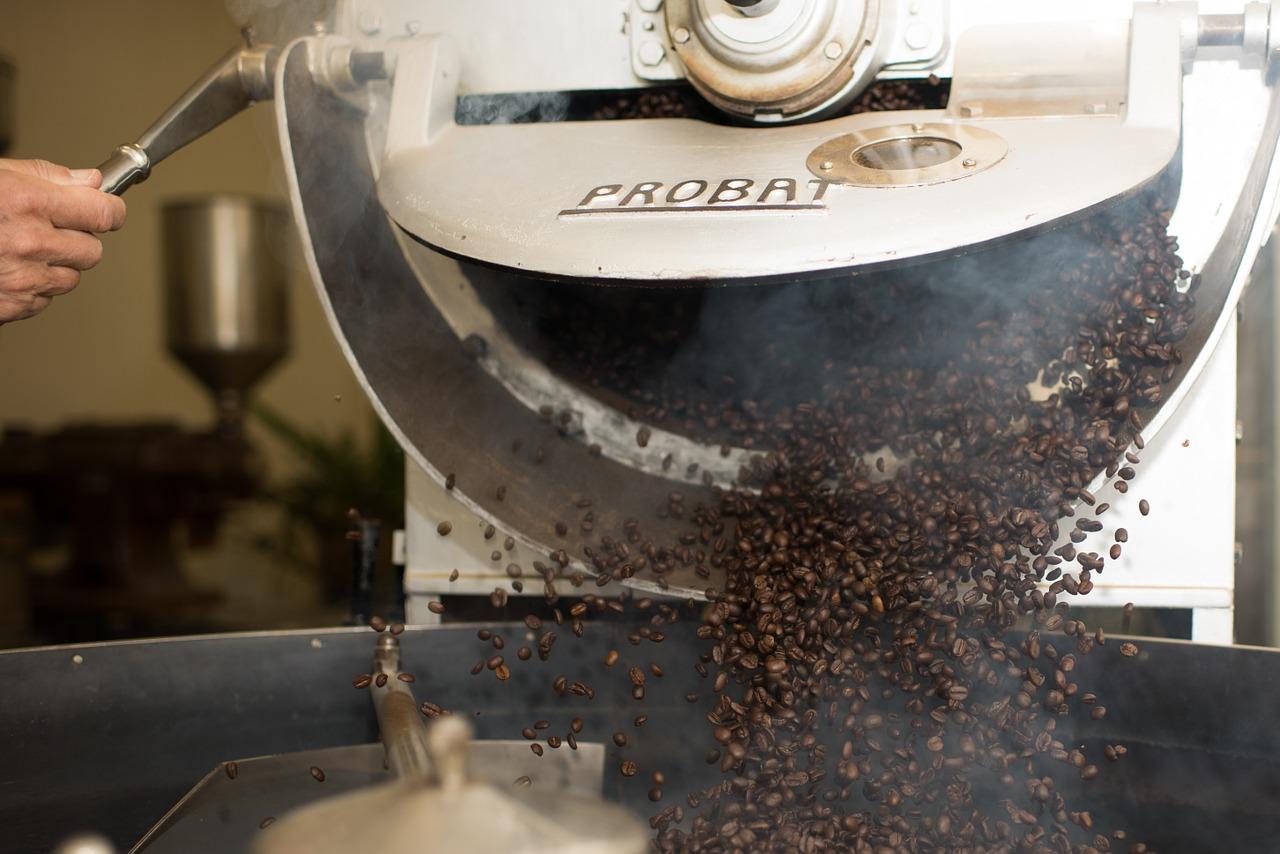コーヒー豆は焙煎が重要