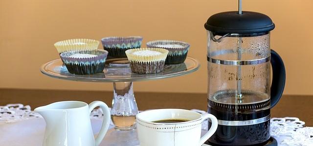 コーヒーの淹れ方初級・コーヒープレス