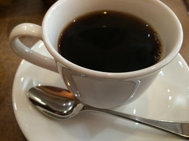 ブラックコーヒー コーヒーカップ